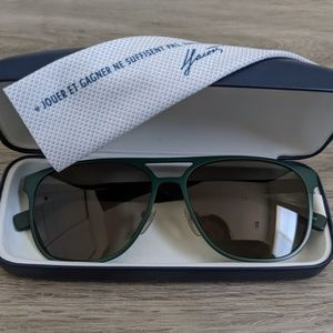 Green Lacoste Sunglass